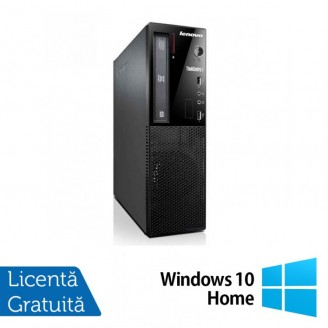 Calculator Lenovo Thinkcentre E73 Desktop, Intel Core i5-4430s 2.70GHz, 8GB DDR3, 500GB SATA, DVD-ROM + Windows 10 Home