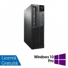 Calculator Lenovo M81 SFF, Intel Core i7-2600 3.40GHz, 8GB DDR3, 120GB SSD, DVD-RW + Windows 10 Pro