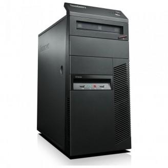 Calculator Lenovo ThinkCentre M91p Tower, Intel Core i7-2600 3.4GHz, 4GB DDR3, 120GB SSD, DVD-RW
