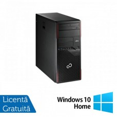 Calculator Fujitsu Esprimo P700 Tower, Intel Core i3-2100 3.10GHz, 4GB DDR3, 250GB SATA, DVD-ROM + Windows 10 Home