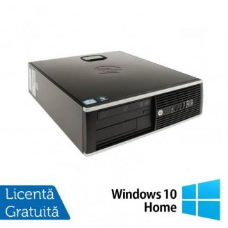 Calculator HP 8200 SFF, Intel Core i3-2100 3.10GHz, 4GB DDR3, 250GB SATA, DVD-ROM, Port Serial, Display Port + Windows 10 Home