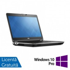 Laptop DELL Latitude E6440, Intel Core i5-4300M 2.60GHz, 8GB DDR3, 240GB SSD, DVD-RW, 14 Inch, Webcam + Windows 10 Pro