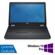 Laptop Dell Precision 3510, Intel Core i7-6700HQ 2.60GHz, 16GB DDR4, 240GB SSD, Full HD, Webcam, 15.6 Inch + Windows 10 Pro