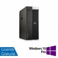 Workstation DELL Precision T5810, Intel Xeon 14-Core E5-2680 V4 3.50GHz - 3.80GHz, 32GB DDR4 ECC, 480GB SSD + 2TB HDD SATA, nVidia Quadro K5000 4GB GDDR5 + Windows 10 Pro