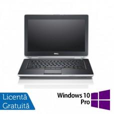 Laptop DELL Latitude E6420, Intel Core i5-2520M 2.50GHz, 4GB DDR3, 500GB SATA, DVD-RW, 14 Inch, Webcam + Windows 10 Pro