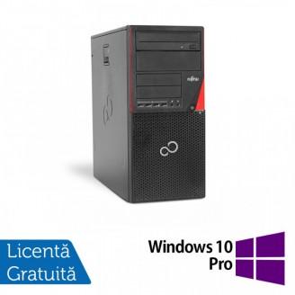 Calculator FUJITSU SIEMENS P720 Tower, Intel Core i5-4570 3.20GHz, 4GB DDR3, 500GB SATA, DVD-RW + Windows 10 Pro