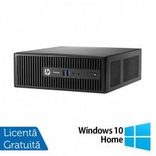Calculator HP 400 G3 SFF, Intel Core i5-6400T 2.20GHz, 8GB DDR4, 120GB SSD, DVD-RW + Windows 10 Home