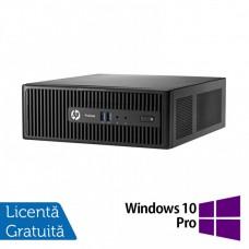 Calculator HP 400 G3 SFF, Intel Core i5-6400T 2.20GHz, 8GB DDR4, 1TB SATA, DVD-RW + Windows 10 Pro