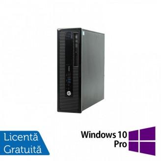 Calculator HP 400 G1 SFF, Intel Core i5-4570 3.20GHz, 4GB DDR3, 500GB SATA, DVD-RW + Windows 10 Pro