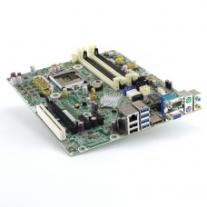 Placa de baza Socket 1155, HP model: SP 657239-001 AS#656961-001 pentru calculator HP 6300 SFF, DDR3, fara shield, second hand