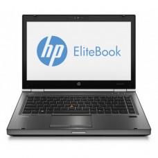 Laptop HP EliteBook 8470p, Intel Core i5-3320M 2.60GHz, 4GB DDR3, 120GB SSD, DVD-RW, 14 Inch, Webcam