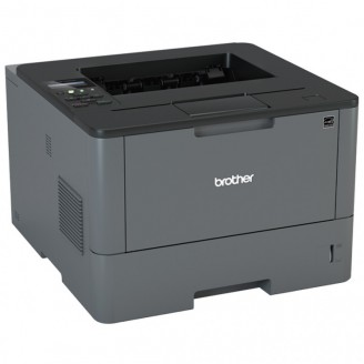 Imprimanta Laser Monocrom Brother HL-L5000D, Duplex, A4, 40ppm, 1200 x 1200, USB, Toner si Unitate Drum Noi