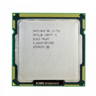 Procesor Intel Core i5-750 2.66GHz, 8MB Cache, Socket 1156