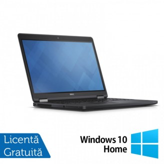 Laptop DELL Latitude E5250, Intel Core i5-5300U 2.30GHz, 8GB DDR3, 120GB SSD, 12.5 Inch, Webcam + Windows 10 Home