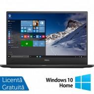 Laptop DELL Latitude 7370, Intel Core M7-6Y75 1.20-3.10GHz, 8GB DDR3, 240GB SSD, 13.3 Inch Full HD, Webcam + Windows 10 Home
