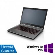 Laptop Fujitsu Lifebook E744, Intel Core i5-4200M 2.50GHz, 8GB DDR3, 120GB SSD, DVD-RW, Fara Webcam, 14 Inch + Windows 10 Pro