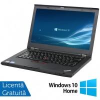 Laptop Lenovo ThinkPad T430s, Intel Core i5-3210M 2.50GHz, 4GB DDR3, 120GB SSD, DVD-RW, 14 Inch, Webcam + Windows 10 Home