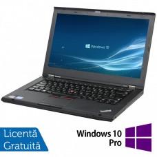 Laptop LENOVO ThinkPad T430, Intel Core i5-3320M 2.60GHz, 4GB DDR3, 120GB SSD, DVD-RW, 14 Inch, Fara Webcam + Windows 10 Pro