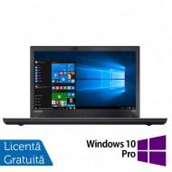 Laptop LENOVO ThinkPad T470p, Intel Core i7-7700HQ 2.80GHz, 16GB DDR4, 240GB SSD, 14 Inch Full HD, Webcam + Windows 10 Pro