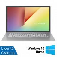 Laptop Nou Asus VivoBook M712DA-WH34, AMD Ryzen 3 3250U 2.60-3.50GHz, 8GB DDR4, 256GB SSD, 17.3 Inch Full HD, Bluetooth, Webcam, Tastatura Numerica + Windows 10 Home