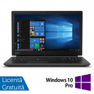 Laptop Nou Toshiba TECRA A50-F, Intel Celeron Processor 4205U 1.80GHz, 8GB DDR4, 128GB SSD, 15.6 Inch, Tastatura Numerica, Webcam + Windows 10 Pro Education