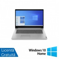 Laptop Nou Lenovo 3 17IIL05, Intel Core i5-1035G1 1.00-3.60GHz, 8GB DDR4, 256GB SSD, Webcam, Abyss Blue, 17.3 Inch + Windows 10 Home