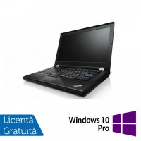 Laptop Lenovo ThinkPad T420s, Intel Core i7-2640M 2.80GHz, 8GB DDR3, 120GB SSD, DVD-RW, 14 Inch, Webcam + Windows 10 Pro