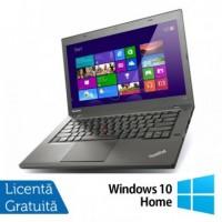 Laptop Lenovo ThinkPad T440, Intel Core i5-4300U 1.90GHz, 4GB DDR3, 120GB SSD, 14 Inch, Webcam + Windows 10 Home