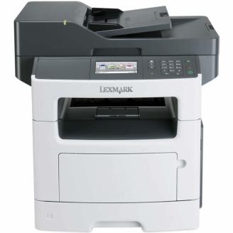 Multifunctionala Laser Monocrom Lexmark MX510de, A4, 45 ppm, 1200 x 1200 dpi, Copiator, Scanner, USB, Retea