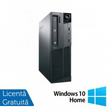 Calculator Lenovo M81 SFF, Intel Core i3-2100 3.10GHz, 8GB DDR3, 120GB SSD, DVD-RW + Windows 10 Home