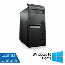 Calculator LENOVO Thinkcentre M91P Tower, Intel Core i5-2400 3.10GHz, 4GB DDR3, 250GB SATA, DVD-ROM + Windows 10 Home