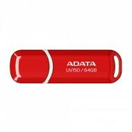 Memorie USB 3.0 ADATA 64 GB, Rosu, AUV150-64G-RRD