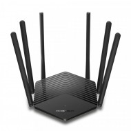 ROUTER MERCUSYS wireless 1900Mbps, 2 porturi LAN Gigabit, 1 port WAN Gigabit, Dual Band AC1900 6 x antena externa, MR50G