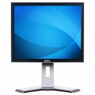 Monitor Dell UltraSharp 1908FP, 19 Inch LCD, 1280 x 1024, VGA, DVI, USB, Grad A-, Fara picior