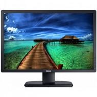 Monitor DELL U2412M, LED, Panel IPS, 24 inch, 1920 x 1200 WUXGA, VGA, DVI, 5 Porturi USB, Widescreen, Grad B, Fara picior