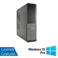 Calculator DELL OptiPlex 3010 Desktop, Intel Pentium G2030 3.00GHz, 4GB DDR3, 250GB SATA + Windows 10 Home