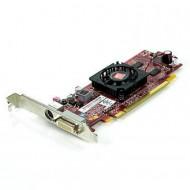 Placa video PCI-E Ati Radeon 4550, 512Mb, High Profile + Cablu DMS-59 cu doua iesiri VGA