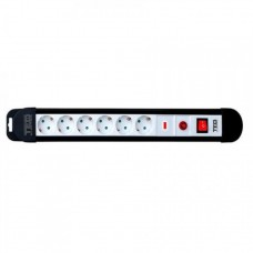 Prelungitor cu protectie, 5 metri, 6 prize schuko, Buton Reset, Led & Switch, Cablu 3x1.5mm, TED Electric