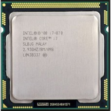 Procesor Intel Core i7-870 2.93GHz, 8MB Cache, Socket 1156
