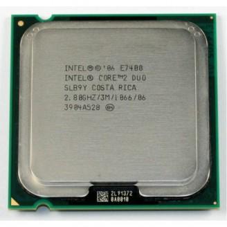 Procesor Intel Core2 Duo E7400, 2.8Ghz, 3Mb Cache, 1066 MHz FSB