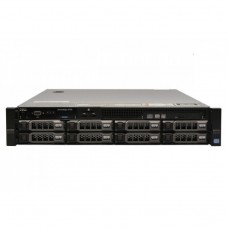 Server Dell PowerEdge R720, 2x Intel Xeon Hexa Core E5-2620 2.0GHz - 2.5GHz, 128GB DDR3 ECC, 4 x 4TB SAS, Raid Perc H710 mini, Idrac 7, 2 surse HS