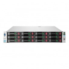 Server Refurbished HP ProLiant DL380e G8, 2U, 2x Intel Octa Core Xeon E5-2450L 1.8 GHz-2.3GHz, 128GB DDR3 ECC Reg, 450GB SAS/15K/3,5, Raid Controller HP SmartArray P420/1GB, iLO 4 Advanced, 2x Surse Hot Swap 750W