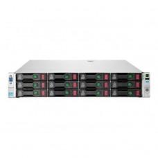 Server Refurbished HP ProLiant DL380e G8, 2U, 2x Intel Octa Core Xeon E5-2450L 1.8 GHz-2.3GHz, 128GB DDR3 ECC Reg, 4x450GB SAS/15K/3,5, Raid Controller HP SmartArray P420/1GB, iLO 4 Advanced, 2x Surse Hot Swap 750W