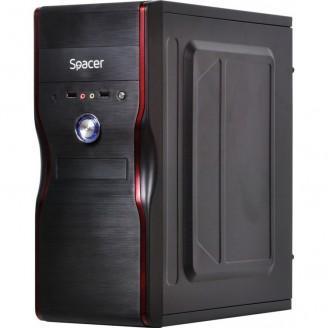 Sistem PC, Intel Celeron G1610 2.60GHz, 16GB DDR3, 120GB SSD + 1TB SATA, GeForce GT710 2GB, DVD-RW, CADOU Tastatura + Mouse