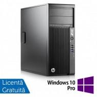 Workstation HP Z230 Tower, Intel Quad Core i5-4690 3.50GHz-3.90GHz, 8GB DDR3, 1TB SATA, DVD-RW, nVidia K620/2GB + Windows 10 Pro