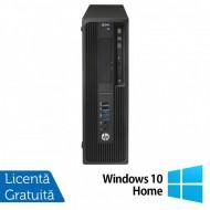 Workstation HP Z240 Desktop, Intel Xeon Quad Core E3-1230 V5 3.40GHz-3.80GHz, 8GB DDR4, HDD 1TB SATA, nVidia K620/2GB, DVD-RW + Windows 10 Home