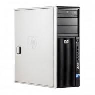 WorkStation HP Z400, Intel Xeon Quad Core W3520 2.66GHz-2.93GHz, 8GB DDR3, 500GB SATA, Placa video nVidia Quadro2000/1GB 128-Bit, DVD-RW