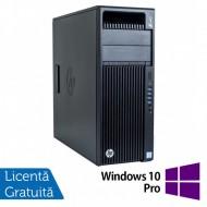 Workstation HP Z440, Intel Xeon 12-Core E5-2670 V3 2.30GHz - 3.10GHz, 32GB DDR4 ECC, 480GB SSD + 1TB SATA, nVidia Quadro K2200/4GB + Windows 10 Pro