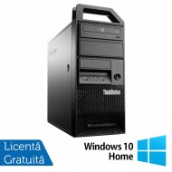 Workstation Lenovo ThinkStation E31 Tower, Intel Core i5-3550 3.30GHz-3.70GHz, 8GB DDR3, 180GB SSD, nVidia Quadro NVS310/512MB, DVD-ROM + Windows 10 Home