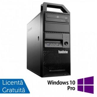 Workstation Lenovo ThinkStation E31 Tower, Intel Core i5-3550 3.30GHz-3.70GHz, 8GB DDR3, 180GB SSD, nVidia Quadro NVS310/512MB, DVD-ROM + Windows 10 Pro